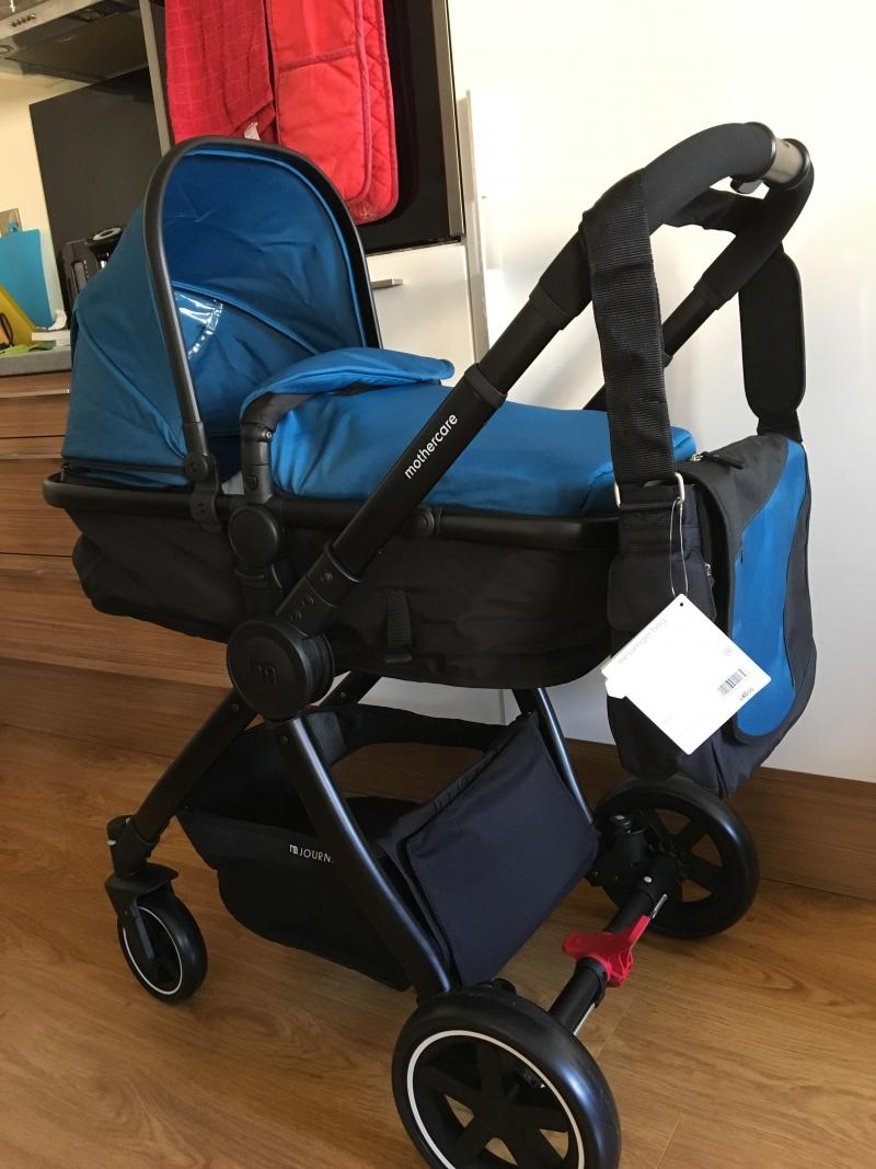 Mothercare 4-Wheel Journey Chrome Travel System - Reviews ...