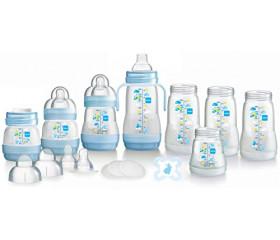 Easy start anti-colic bottle starter set