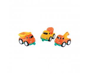 Construction Vehicle Magnetic Trio Set