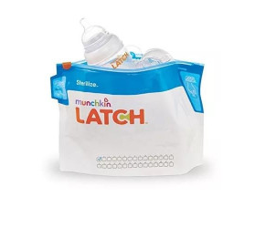 Latch steriliser bags
