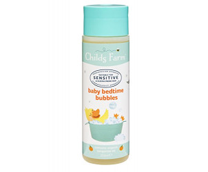 Baby organic tangerine bedtime bubbles