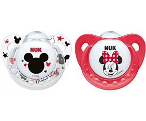 Disney Mickey/Minnie Soother 0-6m