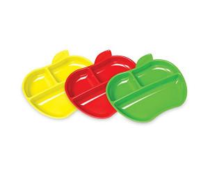 Apple shaped plates