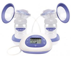 2 in 1 electric breast pump
