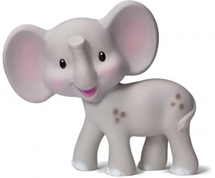 Squeeze And Teether Elephant Teether