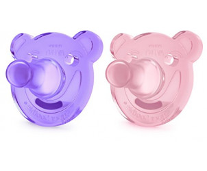 Soothie Bear Shaped Dummy / Pacifier 0-3m