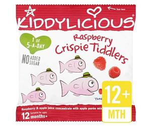 Raspberry crispie tiddlers