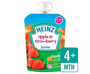 Smooth Apple & Strawberry 4-36 Mths