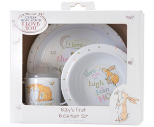 Guess How Much I Love You Breakfast Set - Rainbow Designs