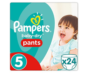 Baby dry pants size 5