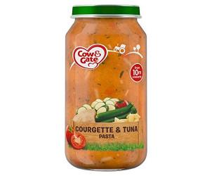 Courgette and tuna pasta jar 10m+