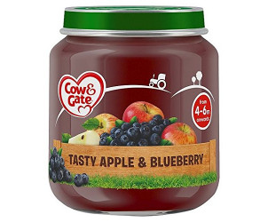 Apple and blueberry jar 4m+