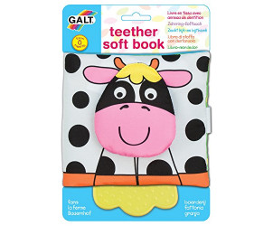 Teether Soft Book Farm