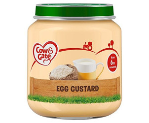 Egg custard jar 6m+