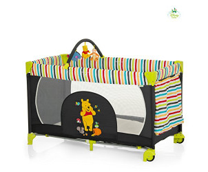 Pooh tidy time dream n play go travel cot