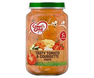Tomato and courgette pasta jar 7m+