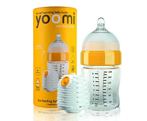 8oz/240ml Feeding bottle & rechargeable warmer