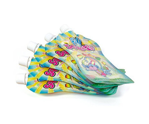 Refill Pack of Reusable Pouches