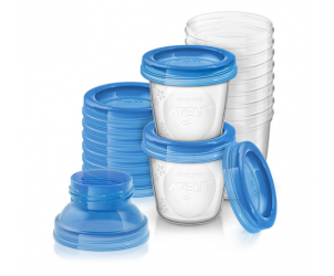 Reusable Breast Milk Storage Cups