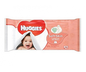 Soft skin baby wipes
