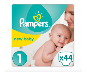 New baby nappies size 1