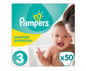 Nappies Premium Protection Size 3