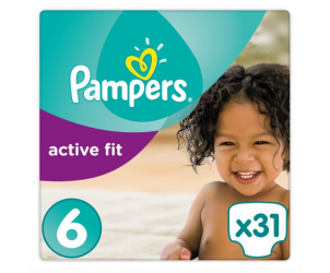 Active fit nappies size 6