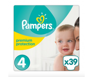 Nappies premium protection size 4