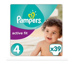 Active fit nappies size 4