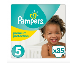 Nappies premium protection size 5