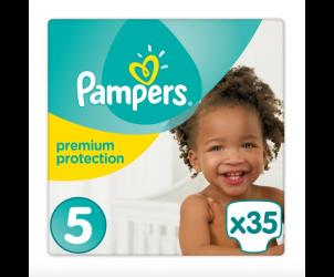 Nappies premium protection size 5