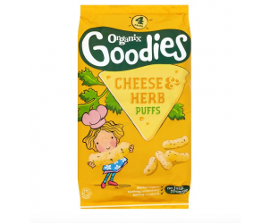 Goodies cheese and herb puffs