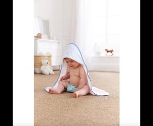 Barley bebe hooded towel