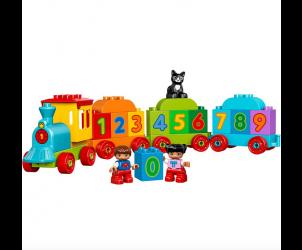 Duplo number train