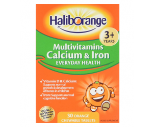 Kids Multivitamin Calcium and Iron tablets