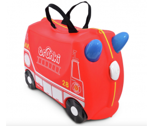 Frank the Fire Engine Ride-on Suitcase