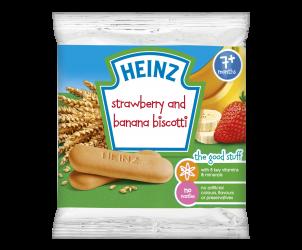 Strawberry and Banana Biscotti