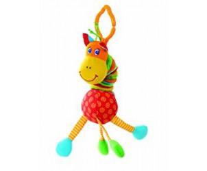 Tiny Smarts Jittering Giraffe Toy