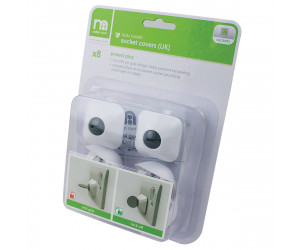 Safest Start Protect Plus Dual Guard UK Socket Covers