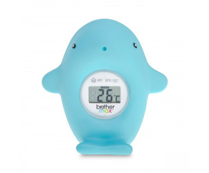 Brother Max Whale Bath and Room Thermometer