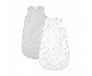 Giraffe and Stripe Sleep Bags 2.5 tog 0-6 months