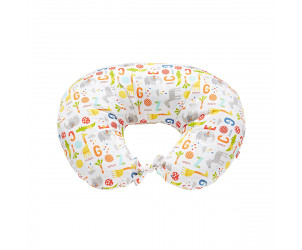 Hello friend printed feeding pillow