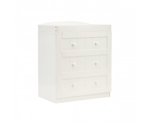 Marlow three drawer changing unit