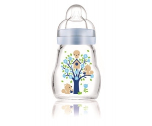 Feel good glass bottle 170ml 0m+