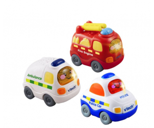 Toot Toot Drivers Set - Emergency Vehicles