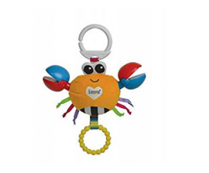 Clackety Claude Clip On Baby Toy