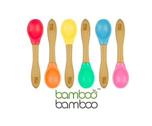 Bamboo Baby Feeding Spoons