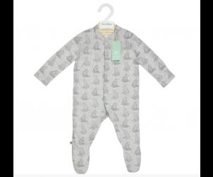 Wild Cotton Organic Sleepsuit Bear