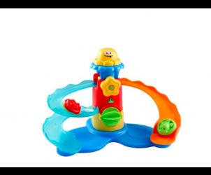 Water side bath playset