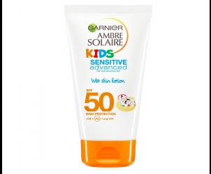 Kids Sensitive Wet Skin Sun Cream SPF50